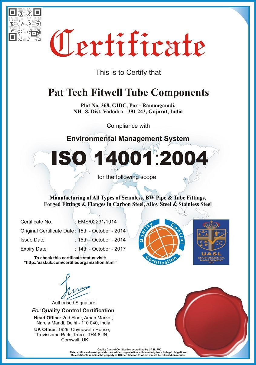 PFTC-ISO-14001-2004