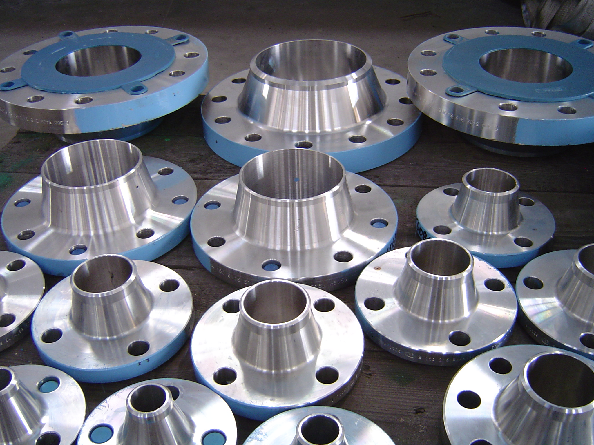 Flanges pattech fitwell tube components
